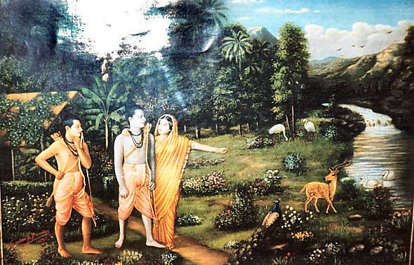 Sita longing for the dear