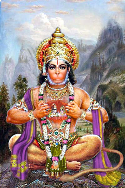 hanuman the personification of servitorship