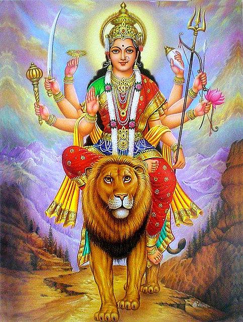 Image result for durga image