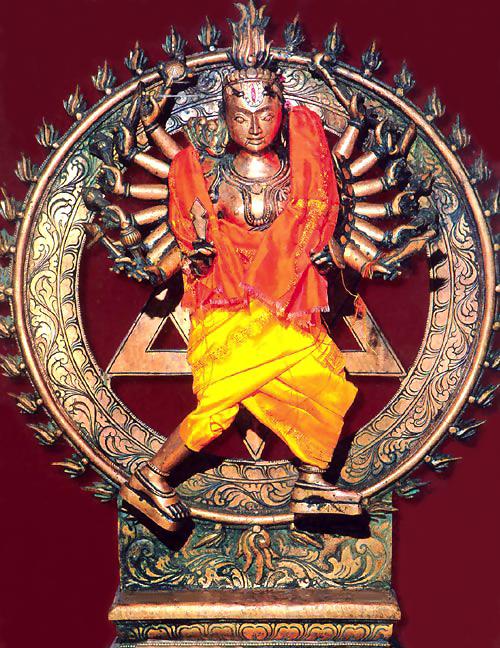 Śrī Sudarśana Chakra - worshiped by Vaiṣṇavas