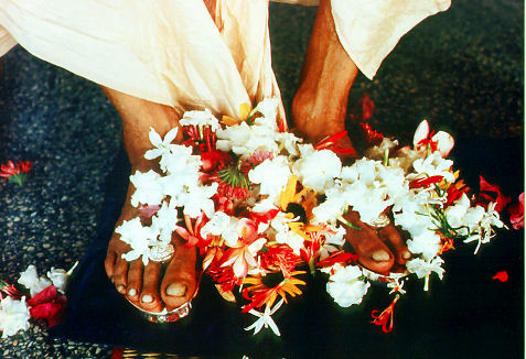 Lotus Feet of His Divine Grace A.C. Bhaktivedante Swami Prabhupada