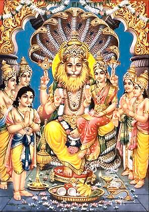 Gebet von  Prahlada Maharaj an Lord Nrisimhadeva