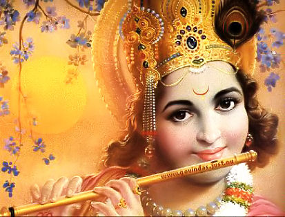 Flute Playing Musik of Krishna
