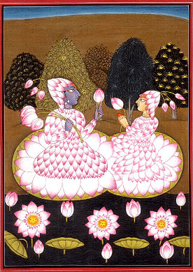 Radha Krishna Premambhoja-maranda-stava-raja The Nectar of the Lotus of Love