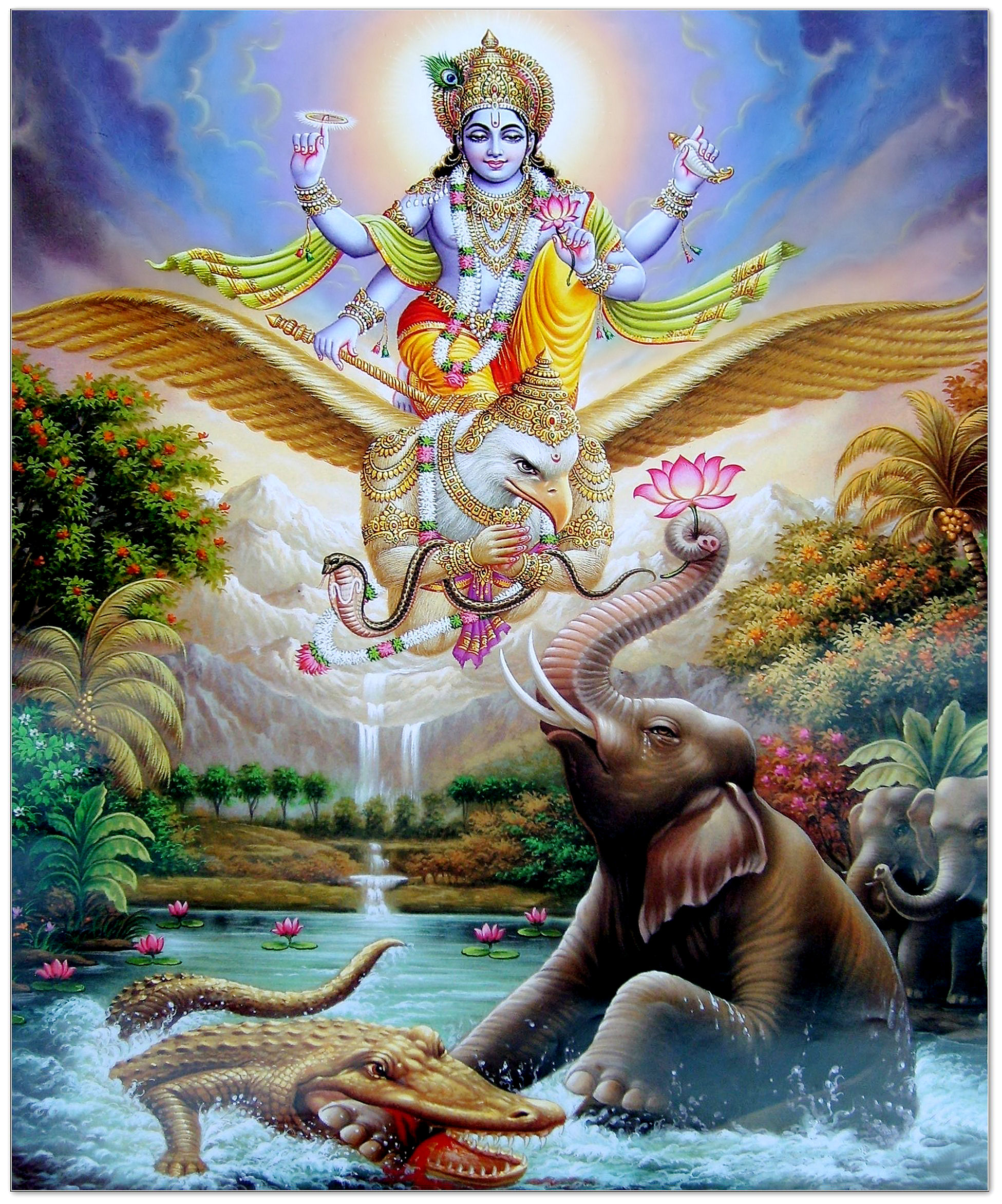 An introduction to the mythology of lord vishnu