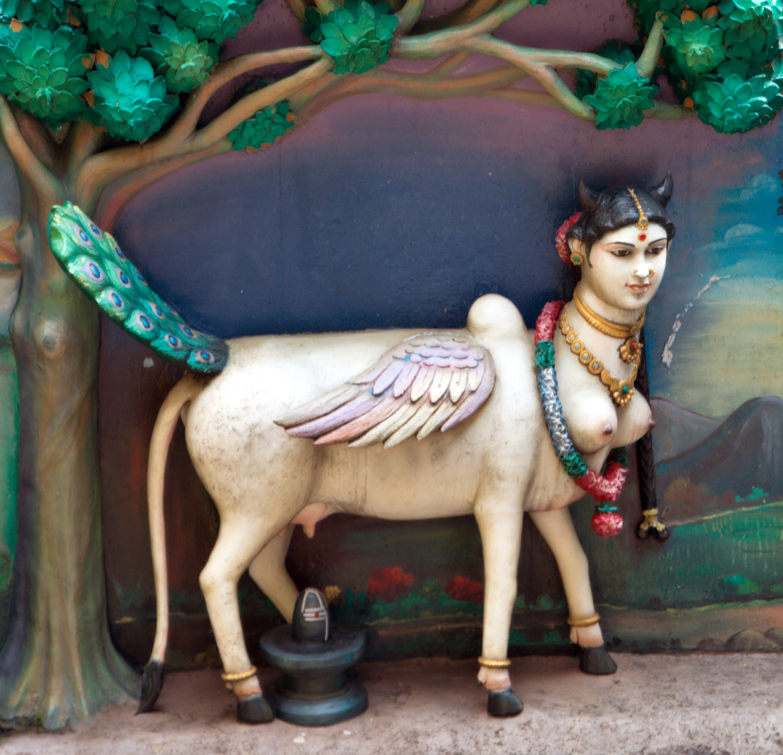 Kamadhenu - the sacred cow which grants all wishes and desires