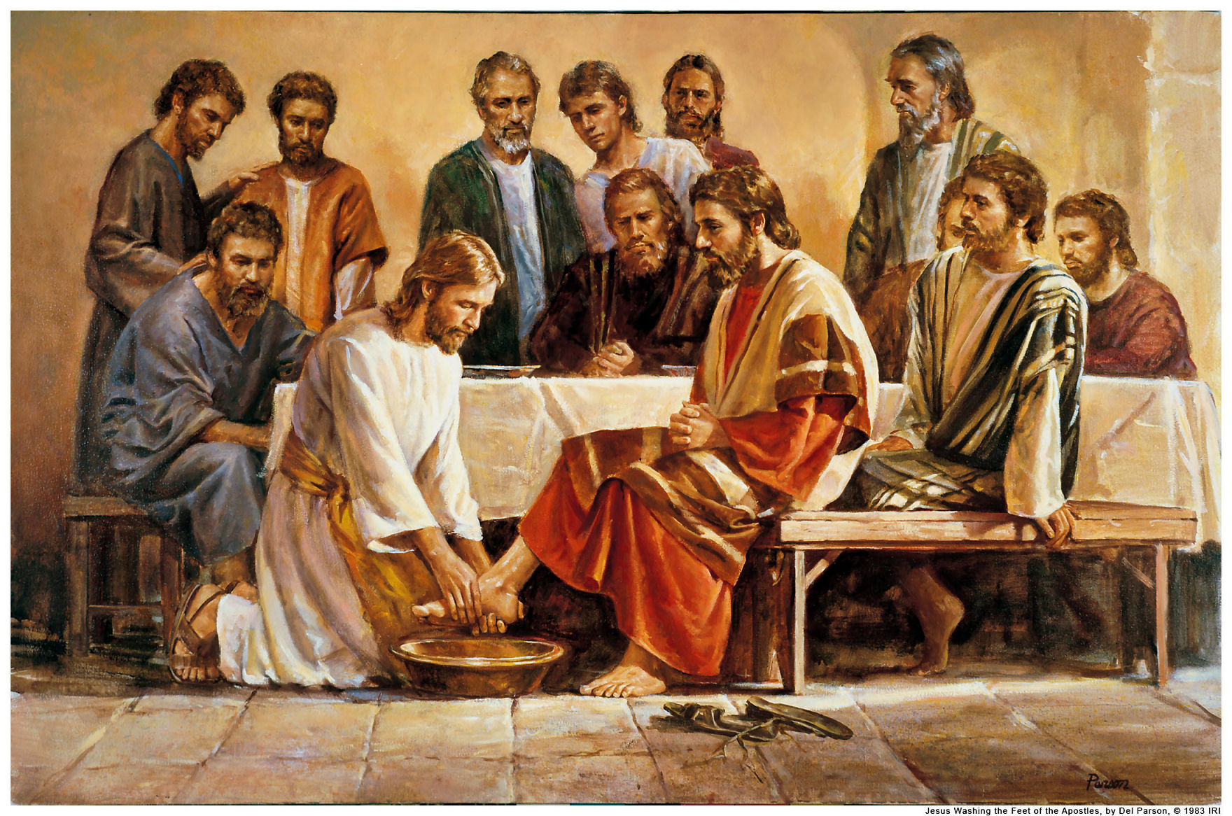 Image result for jesus washing the feet