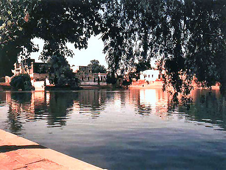 Radha Kunda - Sacred bathing place of Srimati Radharani