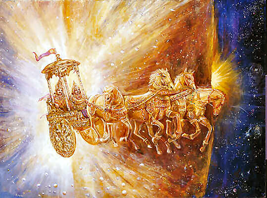 Chariot of the Sun God - Surya Narayana