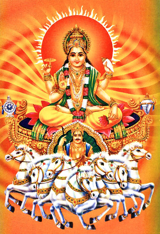surya the sun god New avatar god surya/sun vishvakarma shaved off some of the sun's energy with the excess energy were constructed many of the weapons of the gods such as vishnu's chakra (a bladed-discus), shiva's trident (trishula) and indra's vajra.