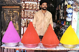 Kumkum Vendor